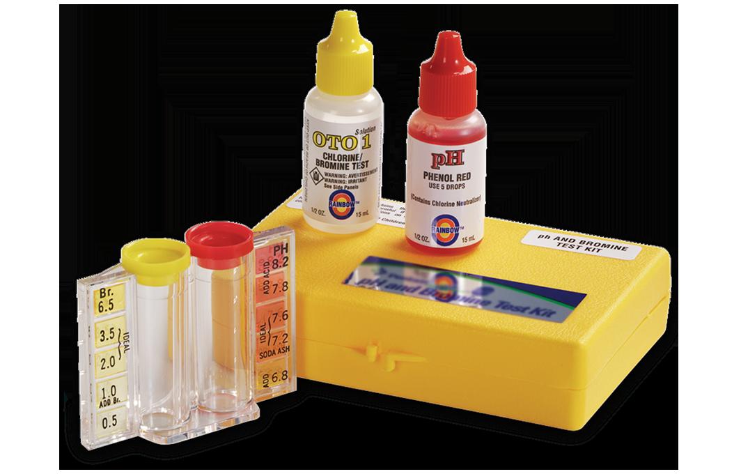 Bộ test kit cho bảo trì hồ bơi